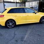 Wrapping Audi A3 giallo