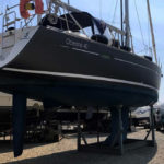 Wrapping barca a vela oceanis 40 blu