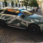 wrapping camouflage roma militare